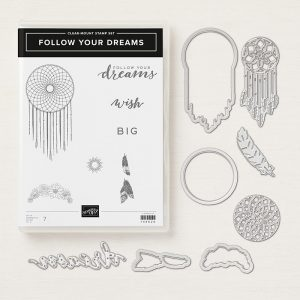 produktpaket FOLLOW YOUR DREAMS stampin up