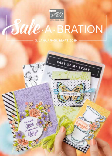 stampin up sale a bration flyer 2019